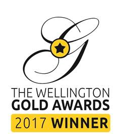 wellington gold award winner