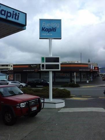 Fuelling Kapiti